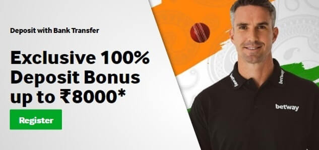 Betway-india-welcome-bonus