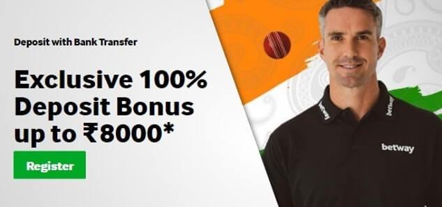 Betway-india-welcome-bonus