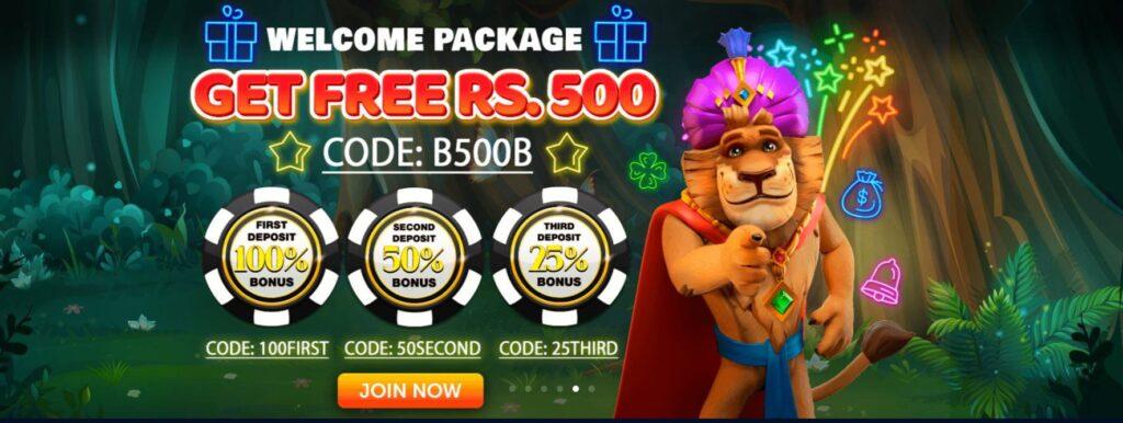 jungle-raja-welcome-bonus