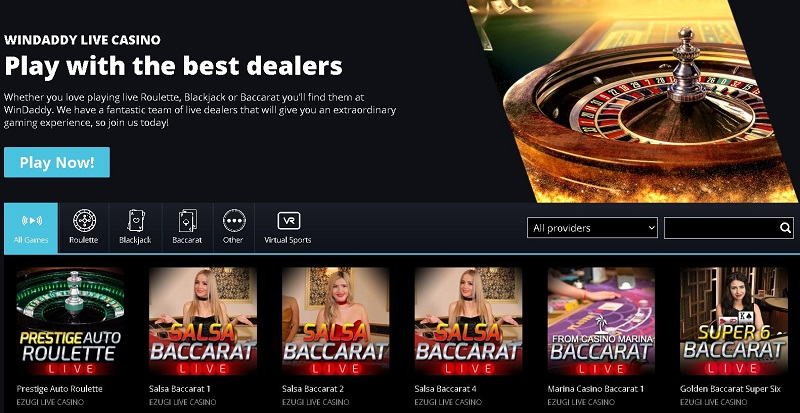 windaddy-live-casino